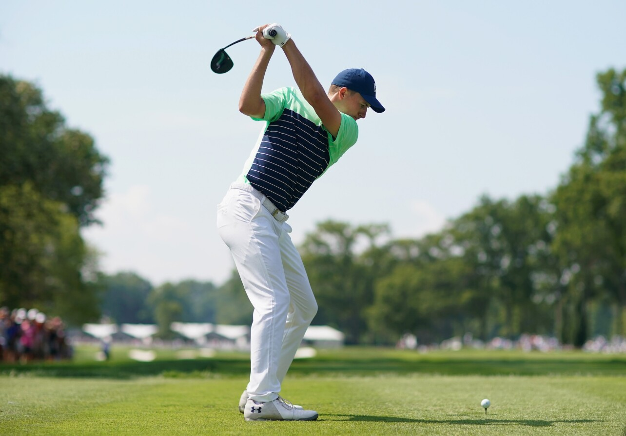 2018 PGA Championship: Round 1 - Tee Shot on No. 7