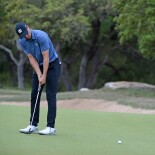 2021 Valero Texas Open: Final Round - Putt on No. 6