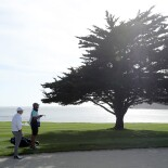 2018 AT&T Pebble Beach Pro-Am: Round 3 - Planning a Shot on No. 18