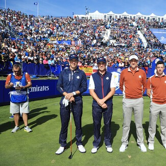2018 Ryder Cup: Saturday Afternoon Foursomes - Spieth, Thomas, Poulter and McIlroy