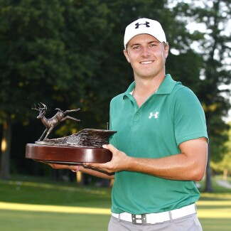 Jordan Spieth at the 2013 John Deere Classic