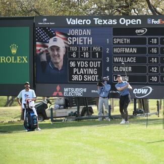 2021 Valero Texas Open: Final Round - Third Shot on 18th