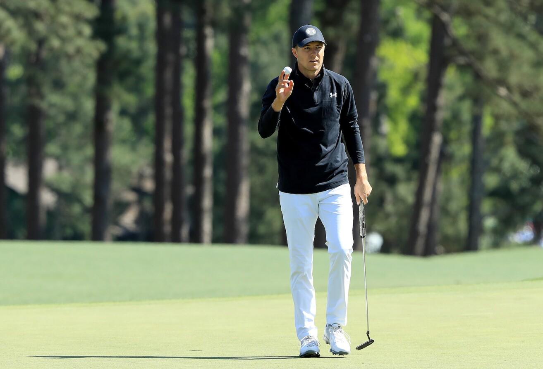 2018 Masters Tournament: Final Round - Birdie on No. 8