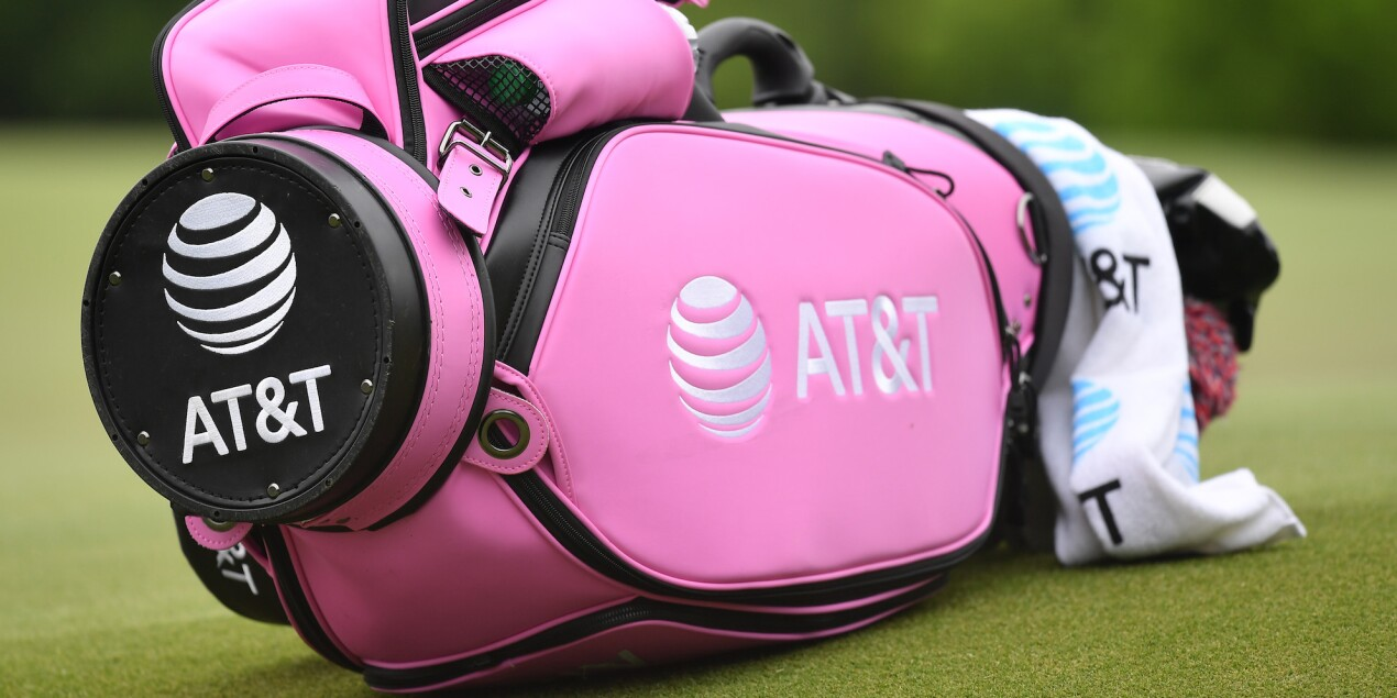 2019 AT&T Byron Nelson: Round 2 - Celebrating Mother's Day With a Pink-Themed Bag