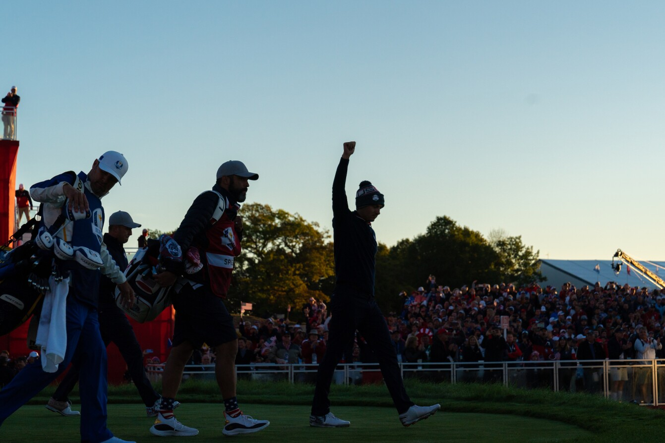 2021 Ryder Cup: Day 1 - Jordan Walks Off the First Tee