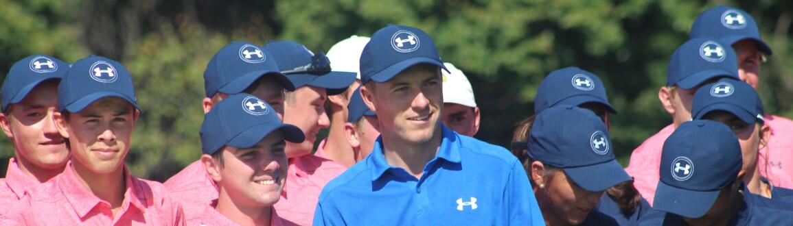 ACE Grant Announcement: Jordan smiles for a group photo