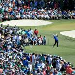 2017 Masters Tournament: Final Round - Tee Shot on No. 3