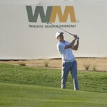 2018 Waste Management Phoenix Open: Round 1 - Jordan Plays His Second Shot on No. 17