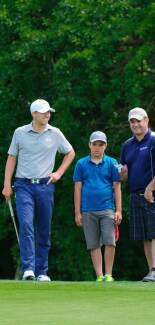 Jordan Spieth at the 2014 Quicken Loans National