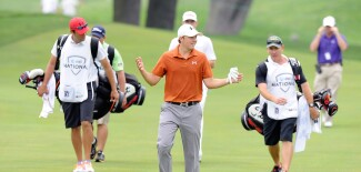 Jordan Spieth at the 2013 AT&T National