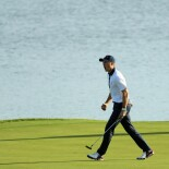 2018 Ryder Cup: Saturday Afternoon Foursomes - Jordan Celebrates His Winning Putt on No. 15