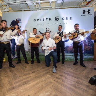 Spieth One Global Tour Mexico: Mariachi Band
