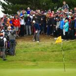 2017 Open Championship: Final Round - Chip on No. 11