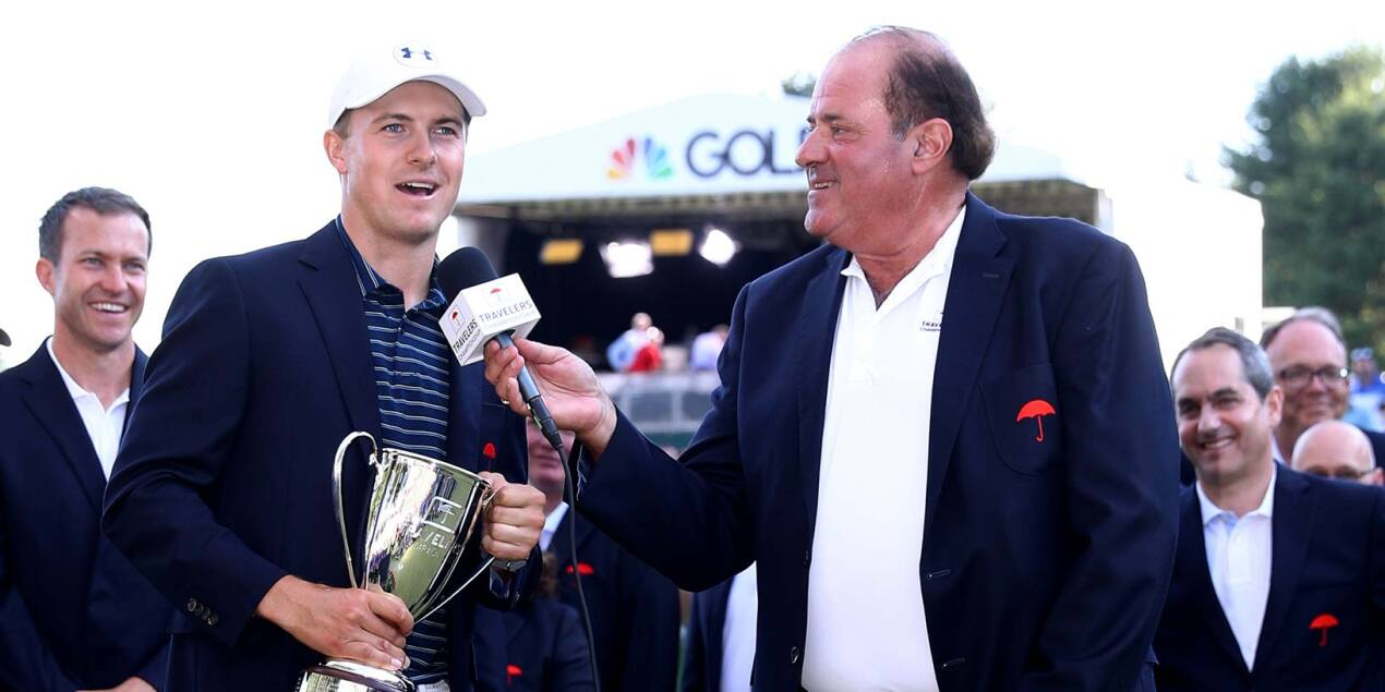 2017 Travelers Championship: Final Round - Jordan's Interview With Chris Berman