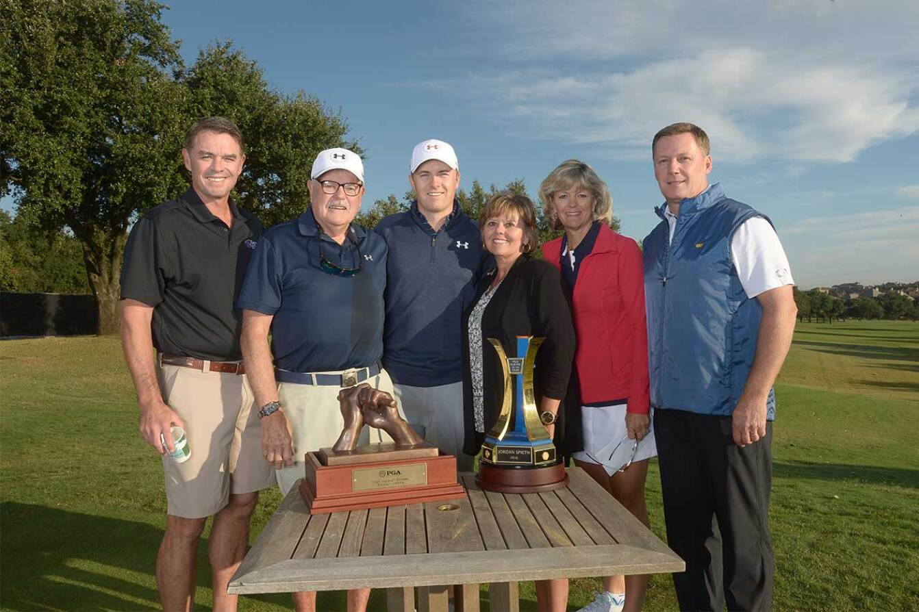 Jordan's Extended Family Celebrate His 2015 PGA Awards - 2015 Spieth Shootout