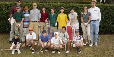 A Young Jordan Spieth at a Brookhaven Summer Camp