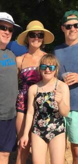 Shawn, Chris, Ellie and Jordan Spieth