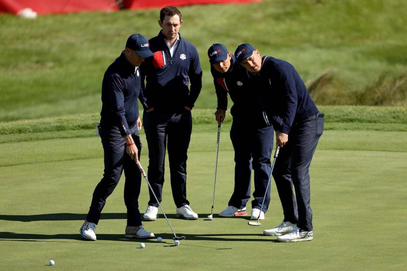2021 Ryder Cup: Preview Day 2 - On the Putting Green