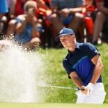 2018 PGA Championship: Round 3 - Bunker Shot on No. 6