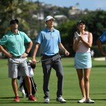 2018 Sony Open: Pro-Am - Jordan and Model Kelly Rohrbach