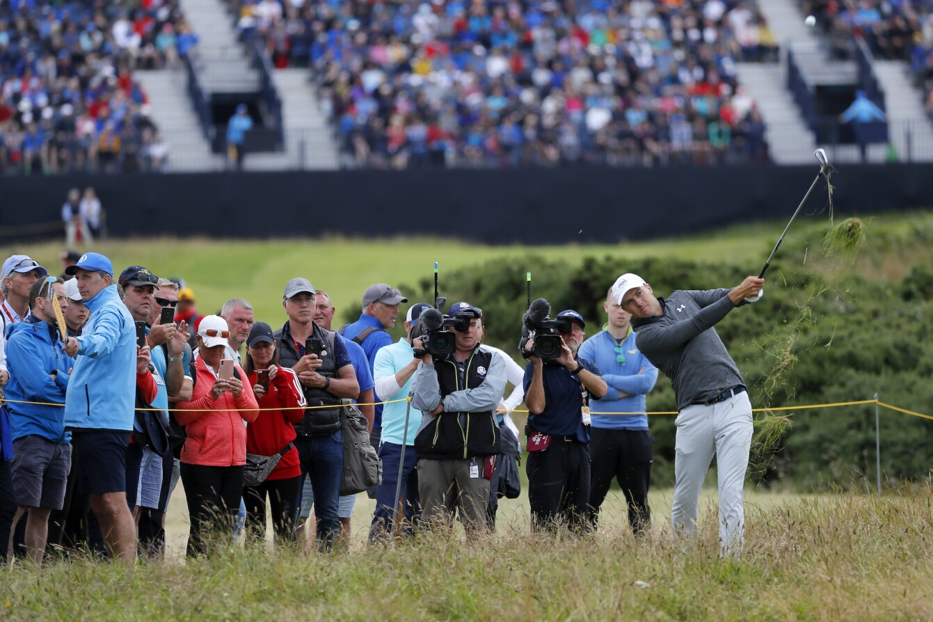The Open Championship 2019: Round 3 - Jordan Plays His Shot on No. 14
