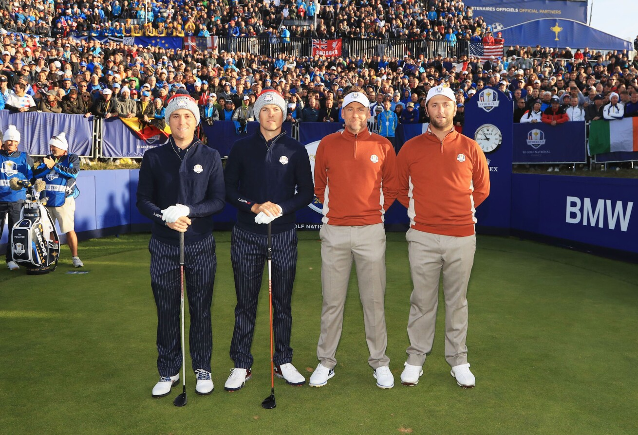 2018 Ryder Cup: Saturday Morning Fourball - Spieth, Thomas, Poulter and Rahm