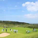 The Open Championship 2019: Preview Day 1 - Jordan's Group on One of Royal Portrush's Greens