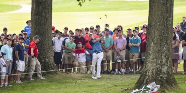 2017 WGC Bridgestone Invitational: Round 1 - 8th Hole