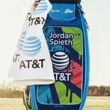 2021 AT&T Pebble Beach Pro-Am: Round 1 - A Close-Up of Jordan's Special Golf Bag