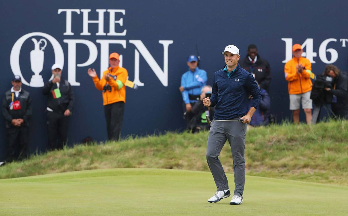 2017 Open Championship: Final Round - A Par Putt Clinches Jordan's Victory at The Open