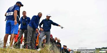 2017 Open Championship: Final Round - Unplayable Lie on No. 13