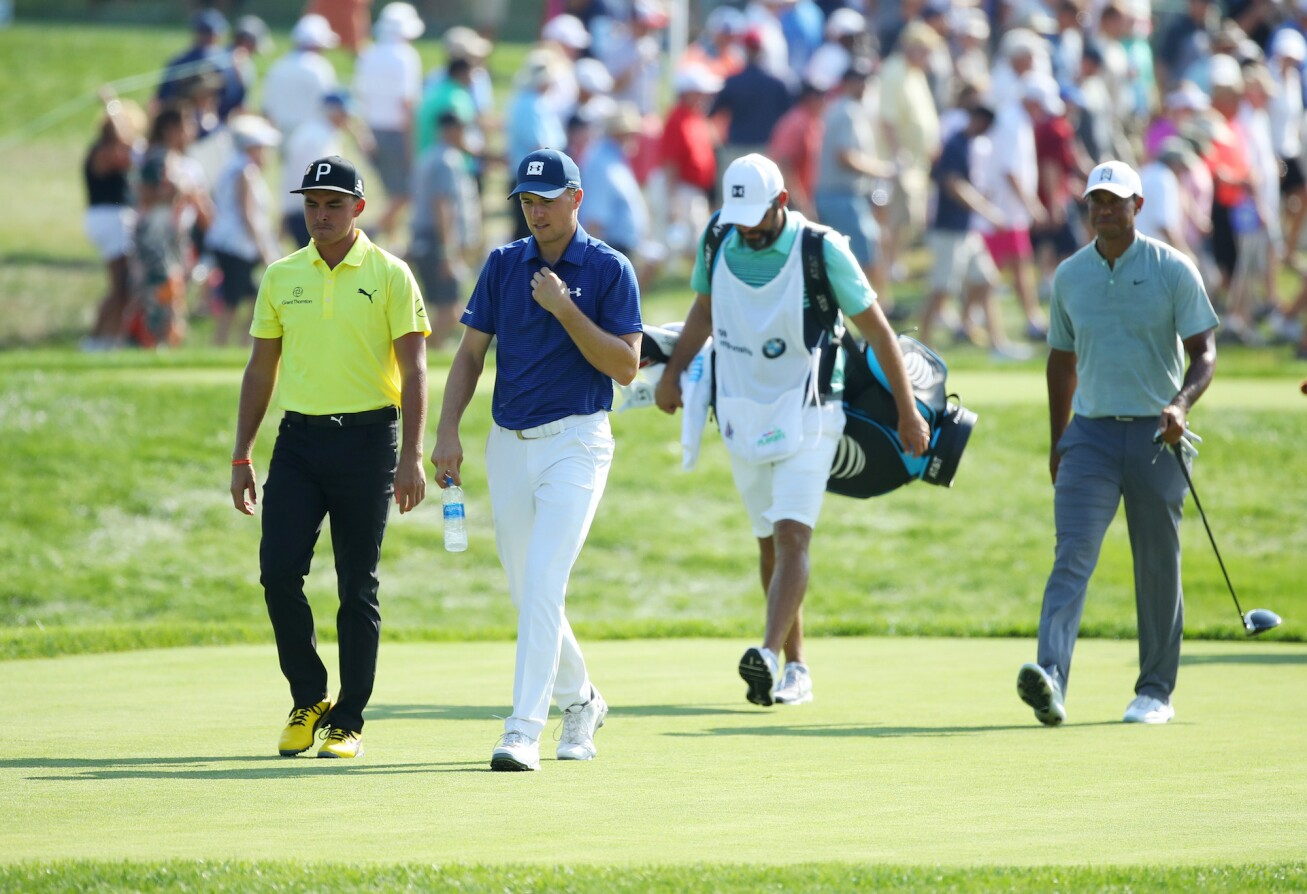 2018 BMW Championship: Round 1 - Walking the Course