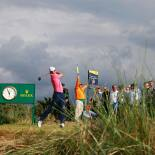 2017 Open Championship: Round 3 - Tee Shot on No. 11