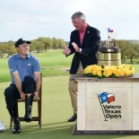 2021 Valero Texas Open: Final Round - Jordan Tries on the Winner's Cowboy Boots