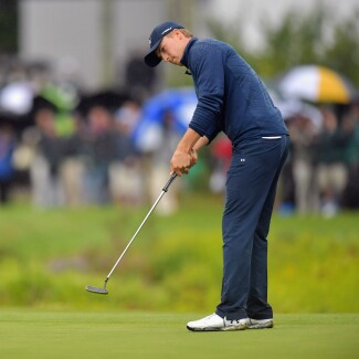 2017 Dell Technologies Championship: Round 3 - putts on 18th