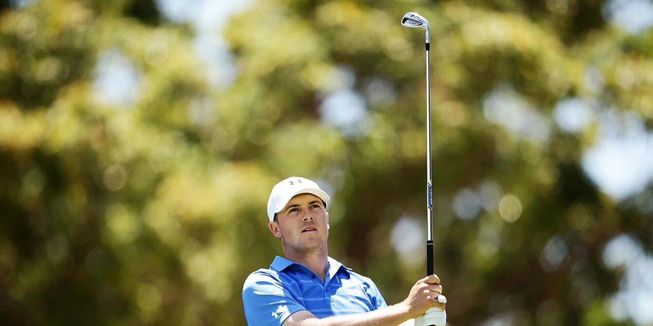 Jordan Spieth at the 2014 Emirates Australian Open