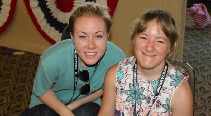 Camp SEEK: Kylie and Ellie