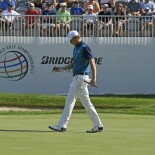 2017 WGC Bridgestone Invitational: Round 1 - Walking to the next hole
