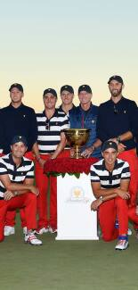 2017 Presidents Cup: Final Round - The Victorious U.S. Team