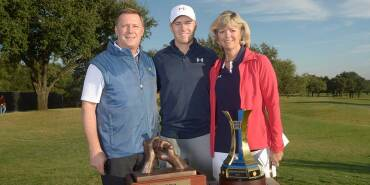 Shawn, Jordan and Chris Celebrate a Winning Year - 2015 Spieth Shootout