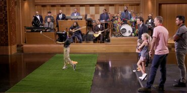 Jordan Faces Young Golfers in a Jimmy Fallon Skee-Ball Skit