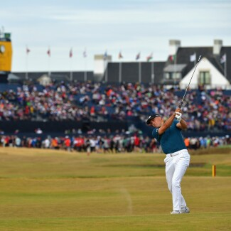 2018 Open Championship: Round 3 - Shot on No. 17