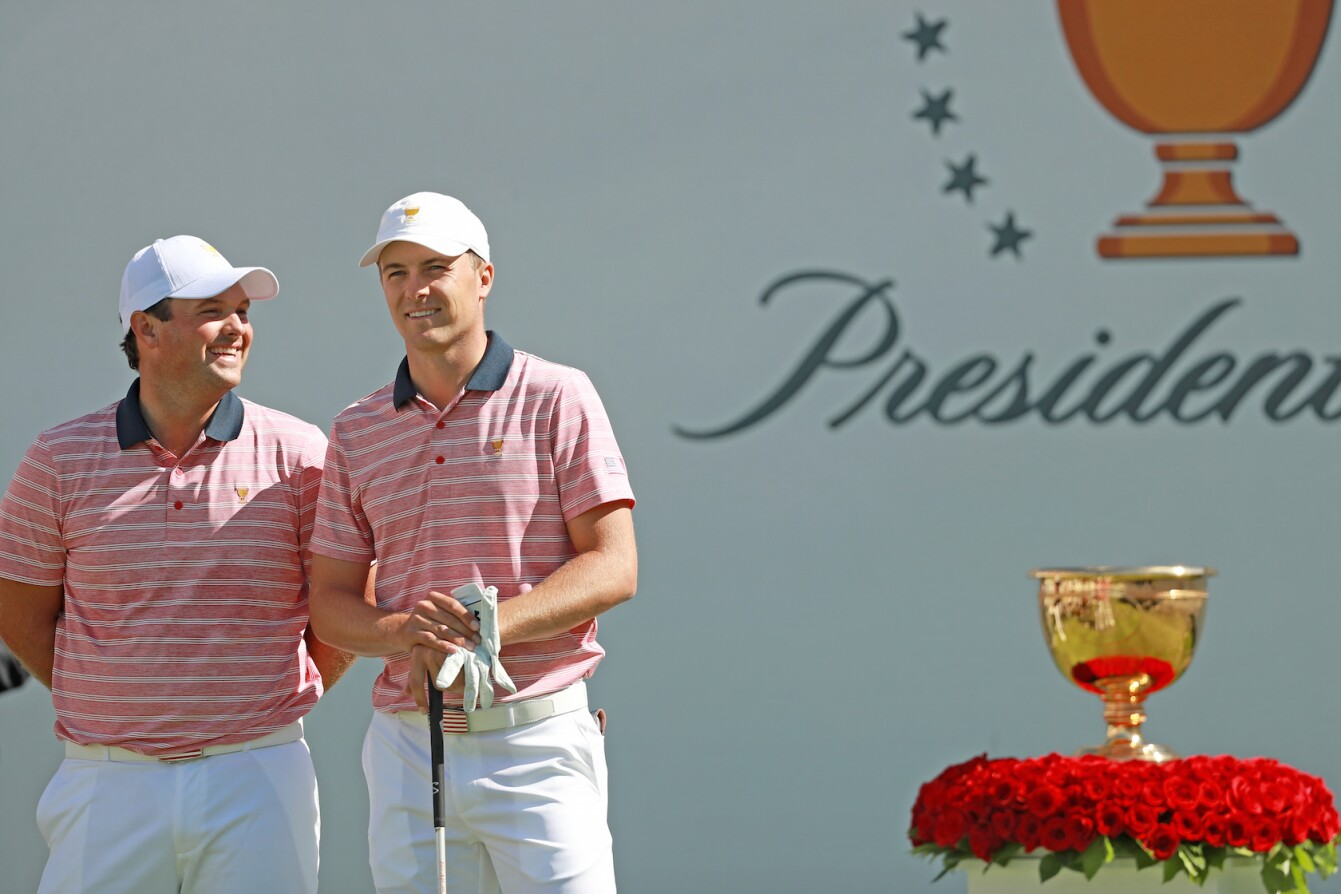2017 Presidents Cup: Round 2 - Reed and Spieth First Tee