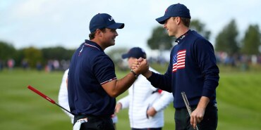 Jordan Spieth saturday of the 2014 Ryder Cup