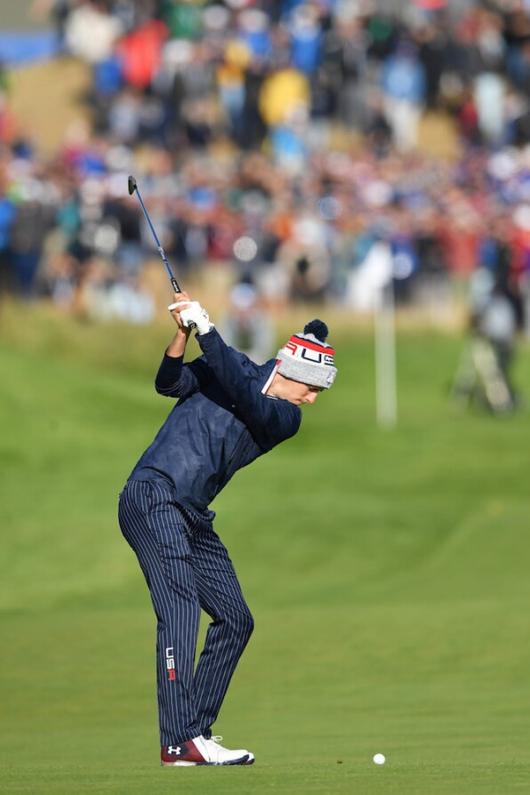 2018 Ryder Cup: Saturday Morning Fourball - Jordan on No. 6