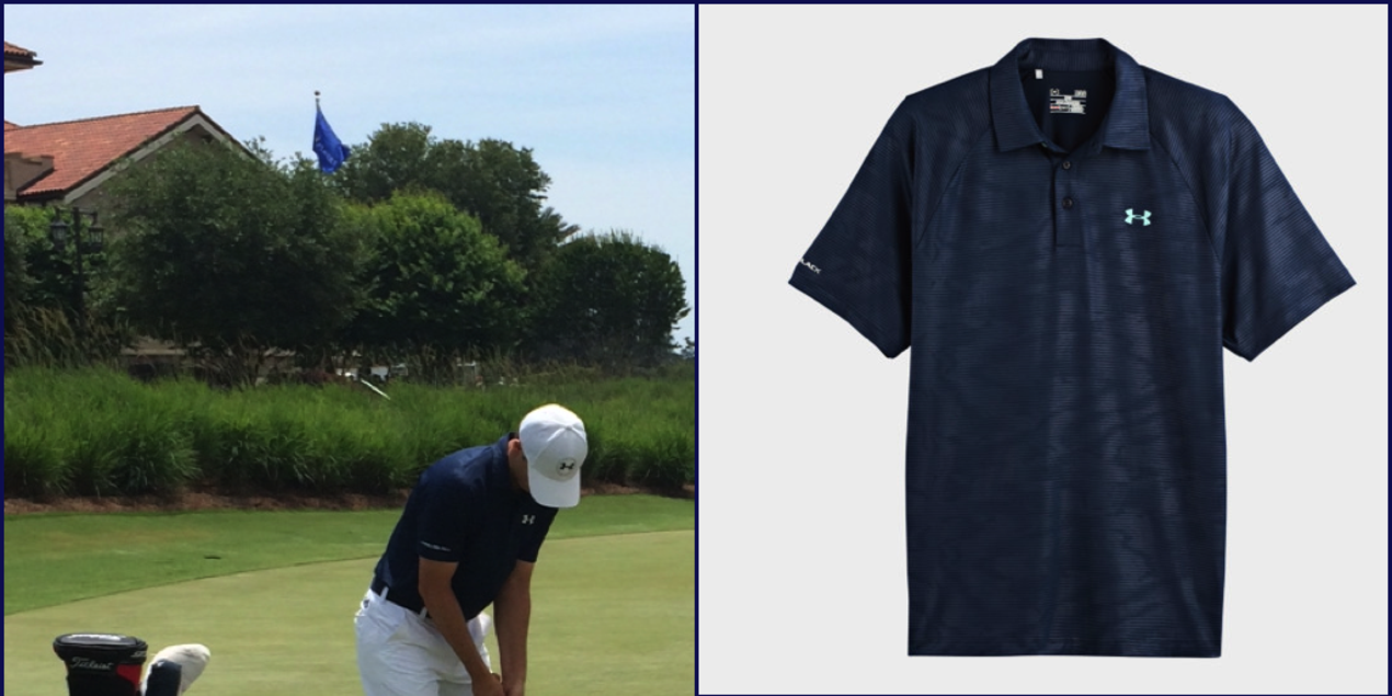 8e52c06a09a60c Under Armour s Saturday Look for Jordan Spieth at The PLAYERS