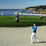2018 AT&T Pebble Beach Pro-Am: Final Round - Fairway Bunker on No. 4
