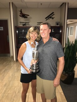 2017 Open Championship: Family Celebration - Jordan's parents