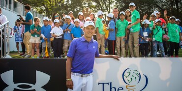 Spieth One Global Tour Mexico: Jordan Takes Photos with the Golfers from The First Tee Mexico