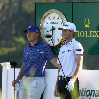 2021 PGA Championship: Round 2 - Jordan and Will Zalatoris on No. 10